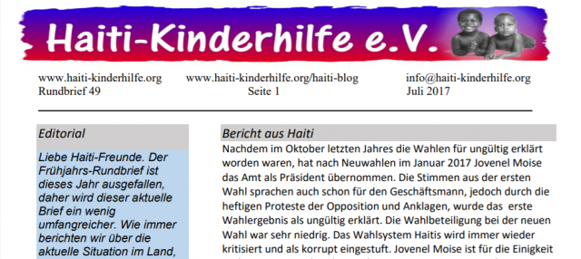 Rundbrief Nr. 49